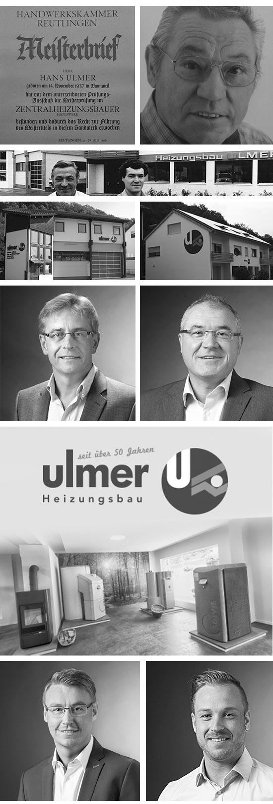 Geschichte der Ulmer Heizungsbau GmbH in Reutlingen Tübingen Mössingen